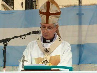 el arzobispo poli hizo un llamado a la unidad de los argentinos en la peregrinacion a lujan