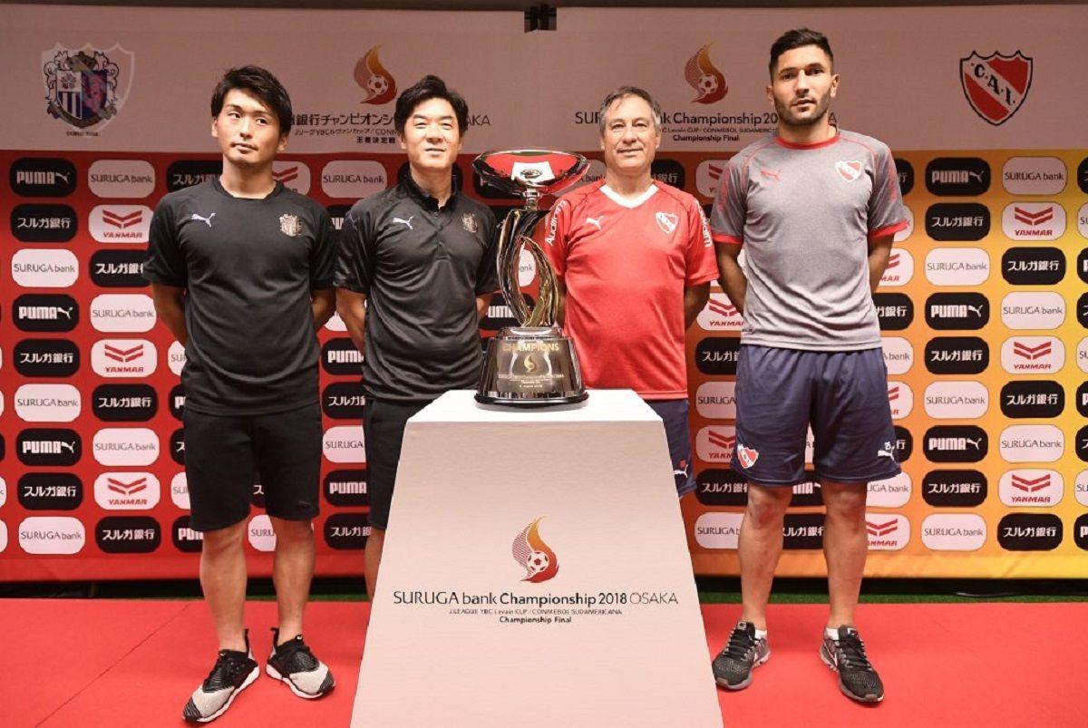 Independiente - Cerezo Osaka, la final de la Suruga Bank: horario, formaciones y TV