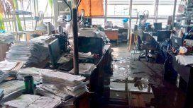 Susto en un edificio público de La Plata: hubo corridas tras una explosión