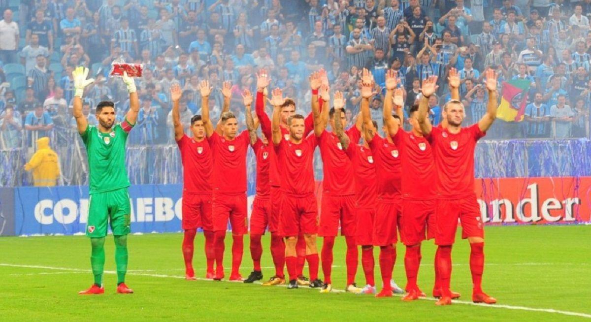 El Rojo perdió la Recopa en febrero en Porto Alegre