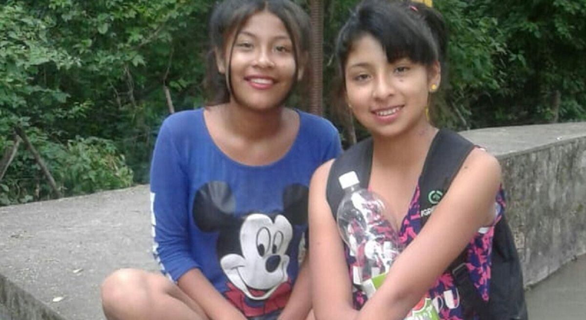 Tania Sansune y Milagros Martínez