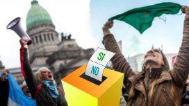 Una consulta popular vinculante, la opción que analizan los defensores de la legalización del aborto