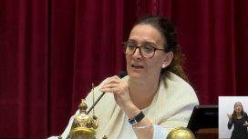 Otro exabrupto de Michetti en plena sesión por el aborto: Es un pel....