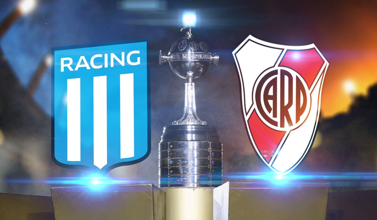 Racing - River por Copa Libertadores: horario, formaciones y TV