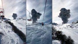 Chile: el volcán Nevados de Chillán entró en erupción