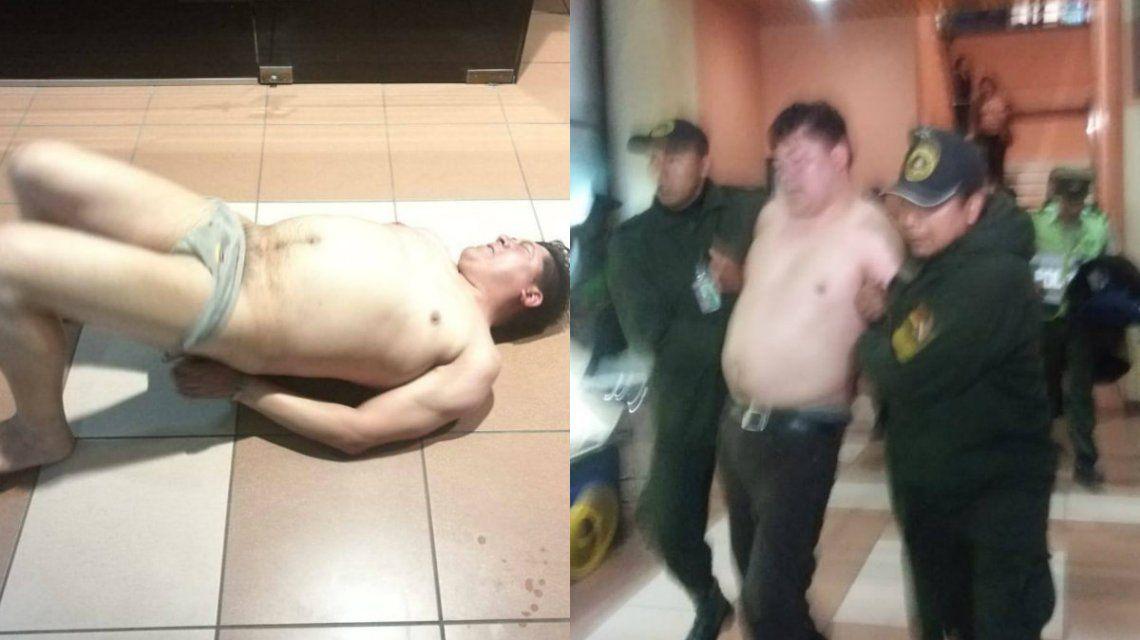 El diputado por el MAS Domingo Soto Farfán hizo un papelón en el aeropuerto de Cochabamba