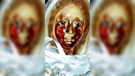 La Virgen que llora sangre es conocida y venerada en Metán, Salta