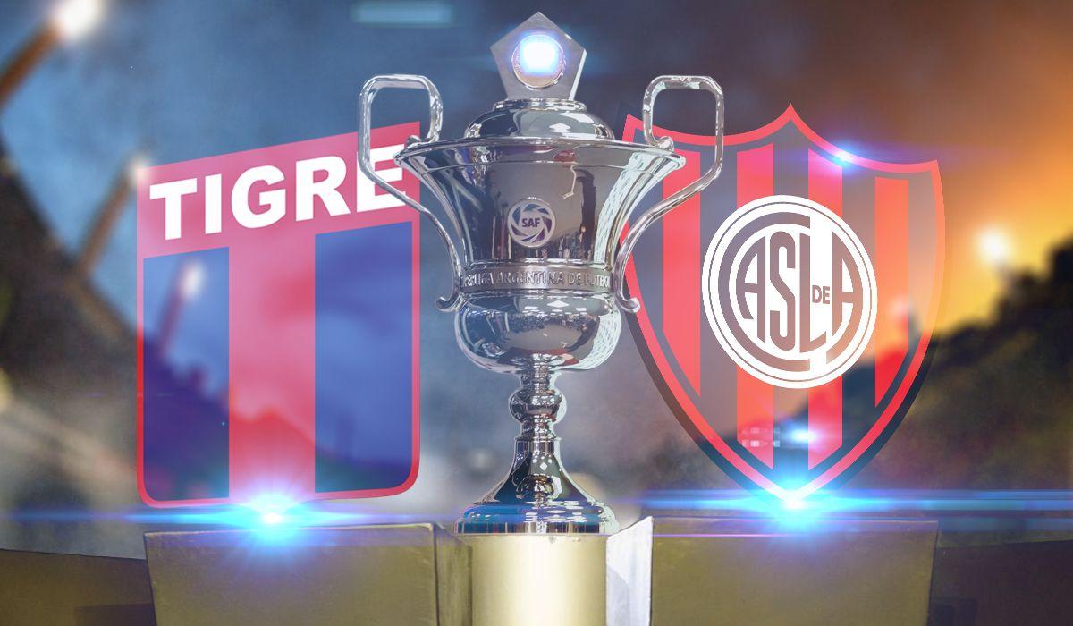 Tigre-San Lorenzo por la fecha 1 de la Súperliga: horario, formaciones y TV
