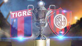 Tigre-San Lorenzo por la fecha 1 de la Súperliga: horario