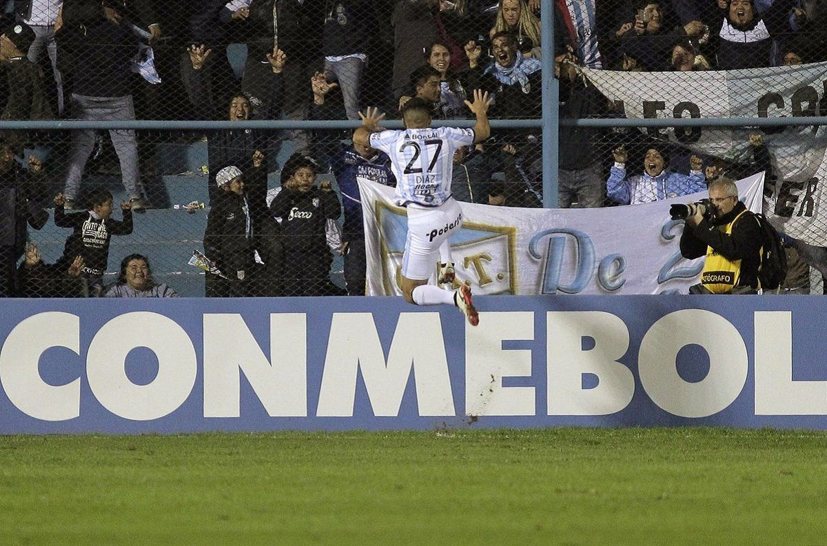 Copa Libertadores: Atlético Tucumán le ganó a Atlético Nacional de Medellín