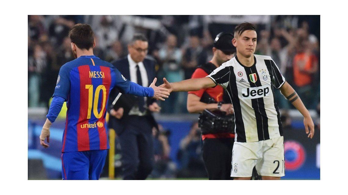 La foto que no se sacó con Messi: Dybala, feliz y sonriente junto a CR7