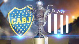 Boca vs Talleres de Córdoba: formaciones