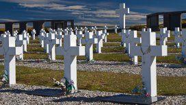Cementerio de Darwin en las Islas Malvinas
