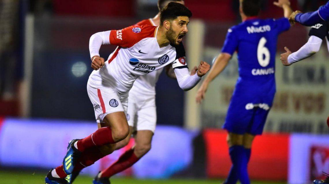 Nicolás Blandi en San Lorenzo - Crédito:@SanLorenzo