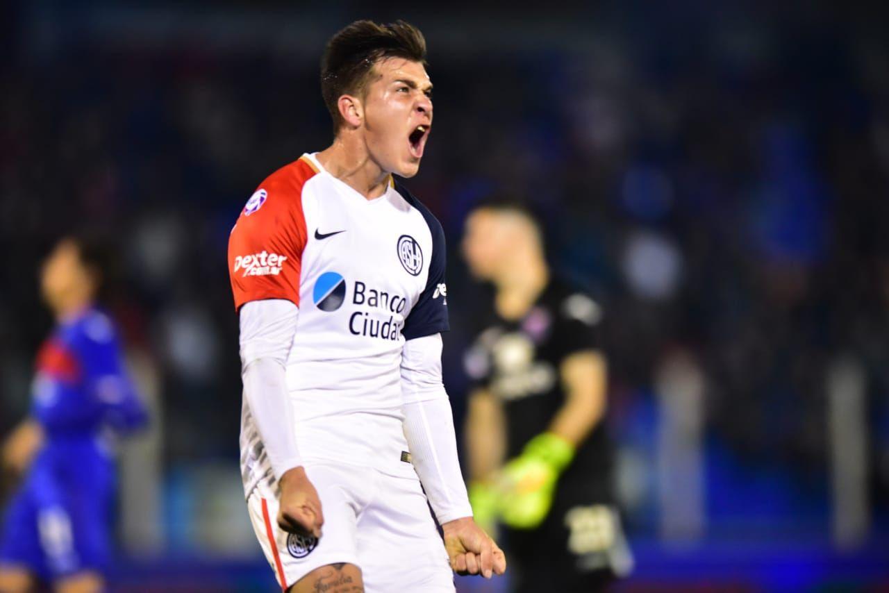 Nicolás Reinero en San Lorenzo - Crédito:@SanLorenzo
