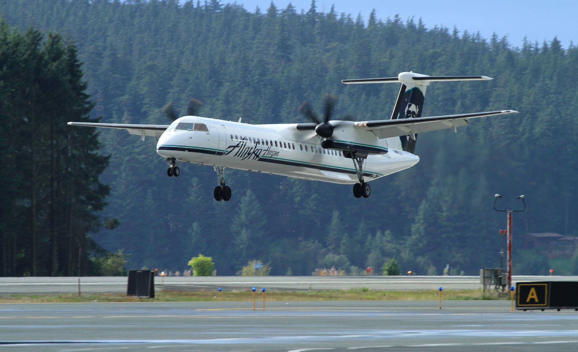 Avión de Alaska Airlines que se estrelló