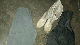 Esta es la ropa que se secuestró y es la que habría usado el día del hecho