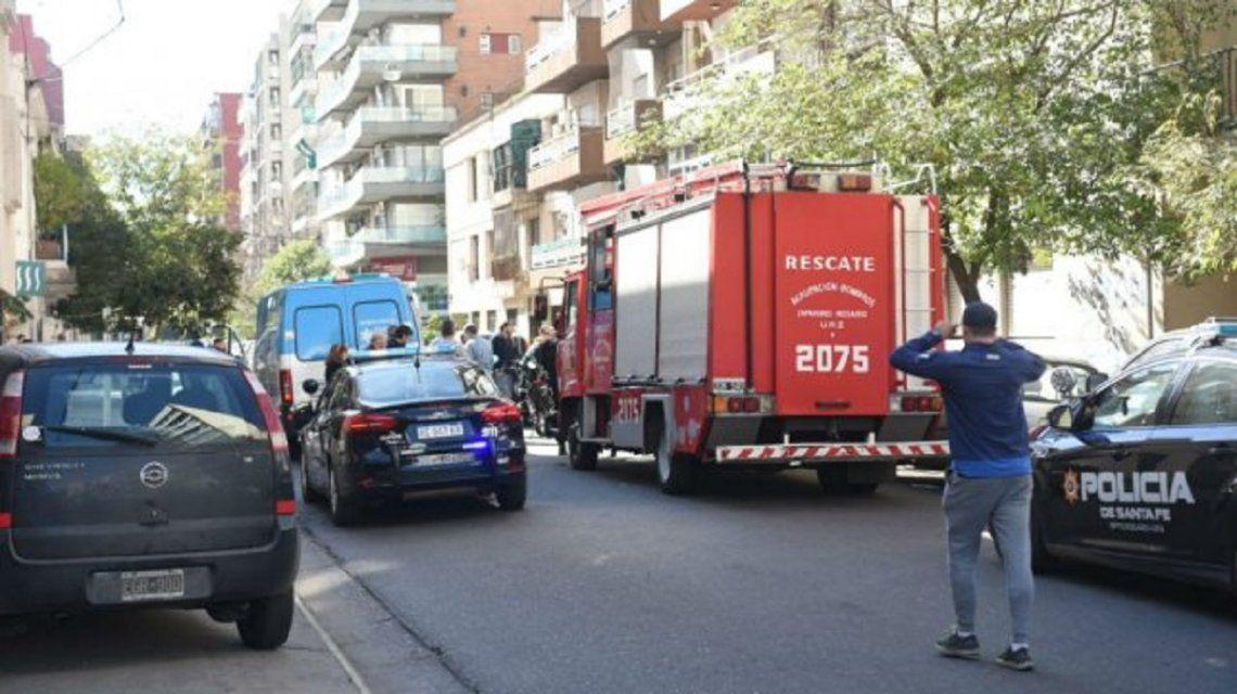 Una familia murió y sospechan de monóxido de carbono - Crédito:La Capital/Leo Vincenti