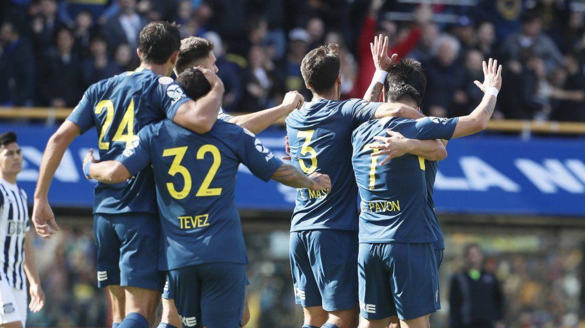 Boca le ganó a Talleres en su debut en la Superliga con un gol de Pavón