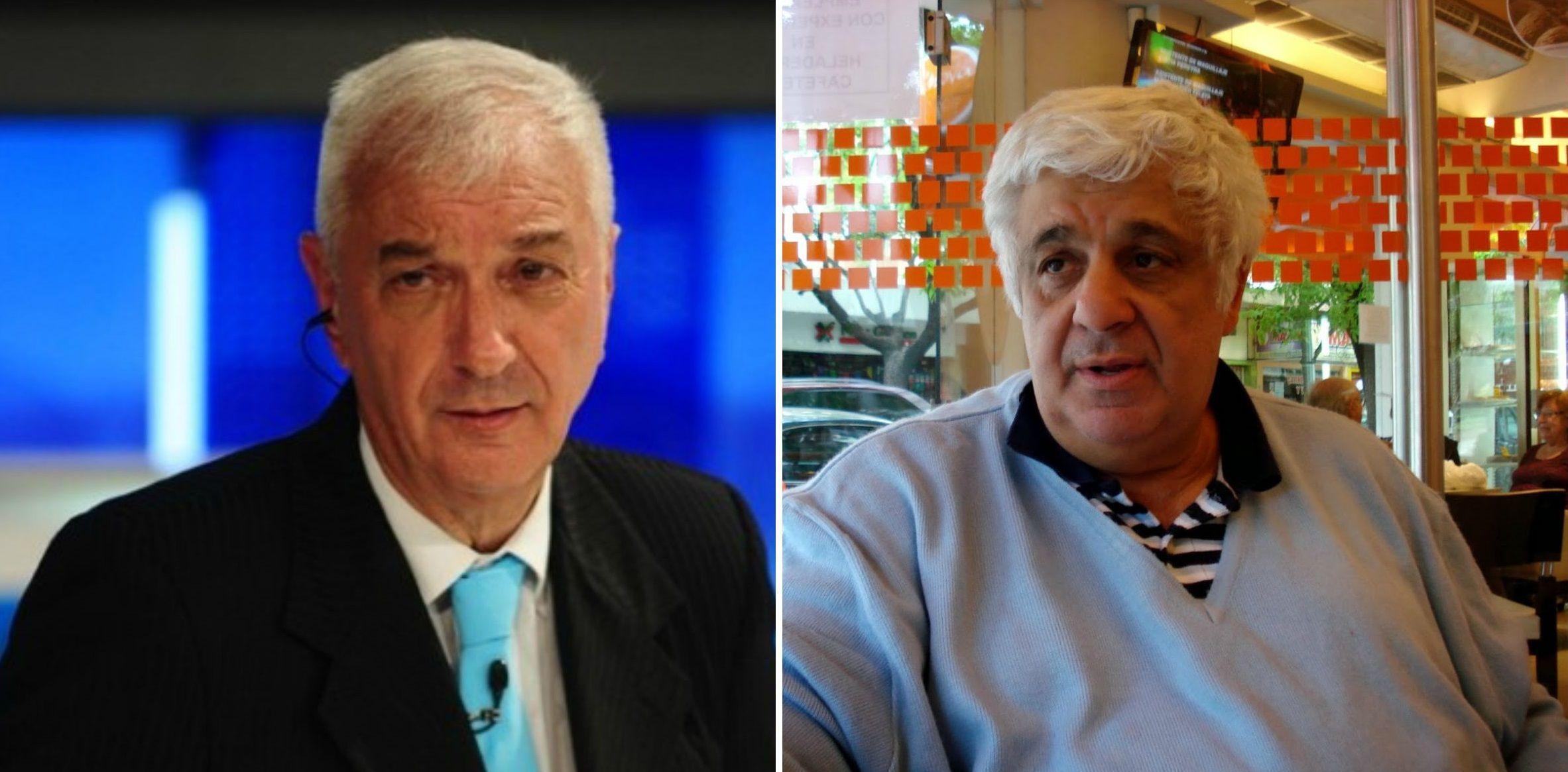 Mauro Viale y Alberto Samid