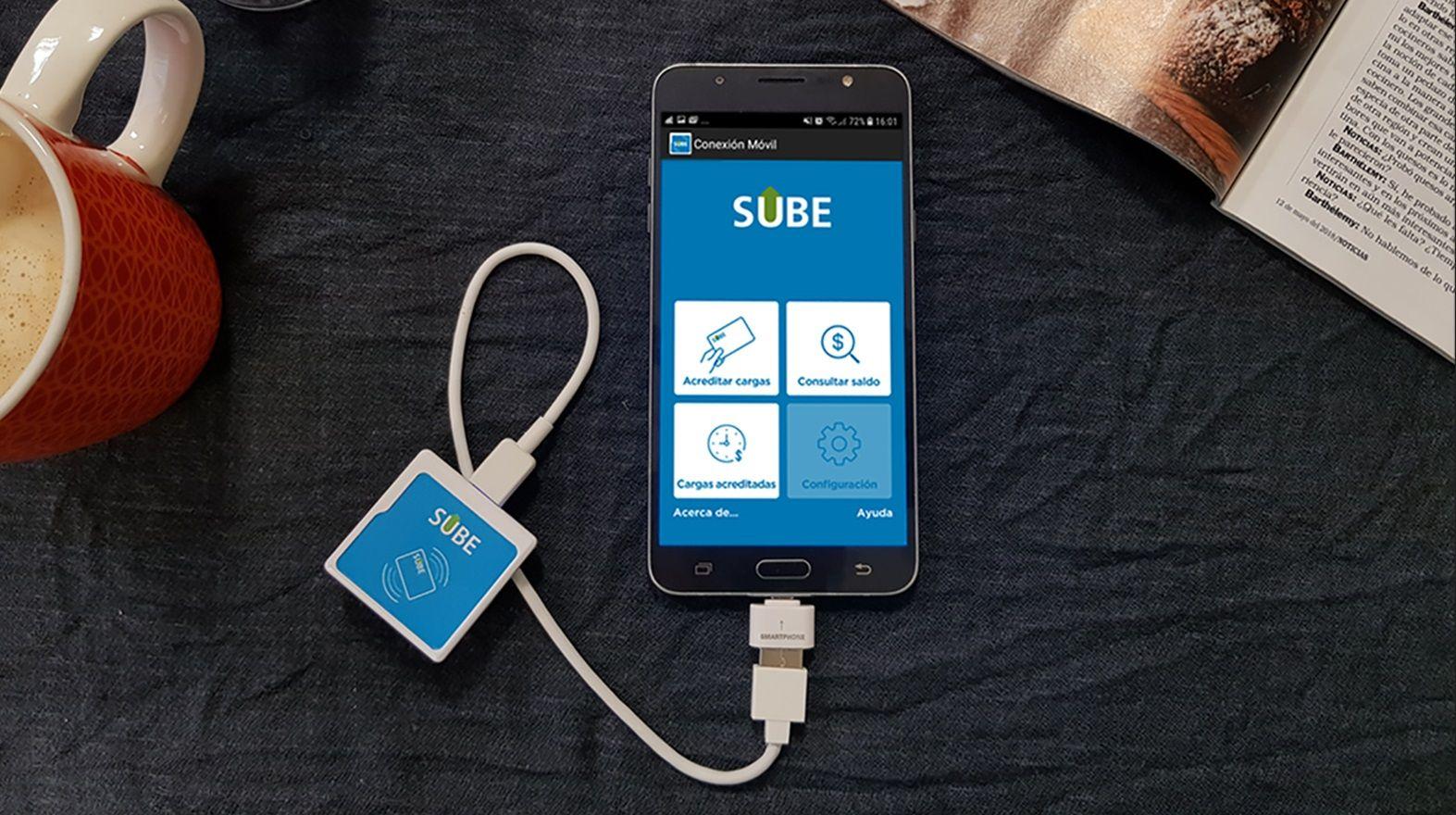 Cómo es el nuevo dispositivo para cargar la SUBE sin salir de tu casa
