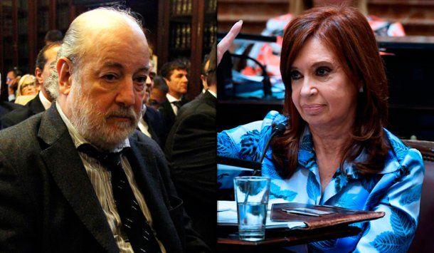 Claudio Bonadio y Cristina Kirchner<br>
