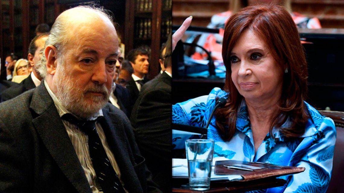 Causa de los cuadernos: el juez Bonadio rechazó la recusación presentada por Cristina Kirchner