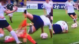 El extraño gol en el Sub 20 femenino de Inglaterra a México