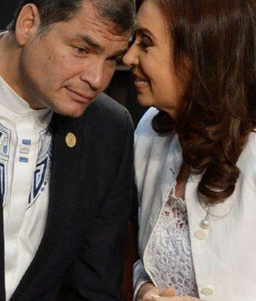 De Correa a CFK: Temo, querida Cristina, que te gano