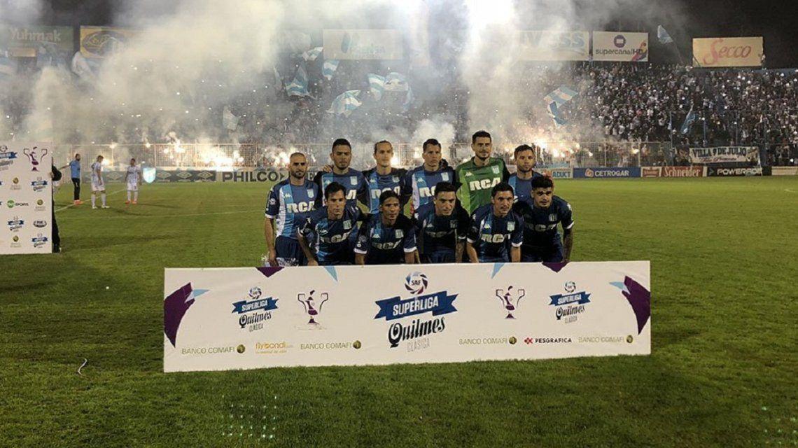 Así formó Racing contra Atlético Tucumán