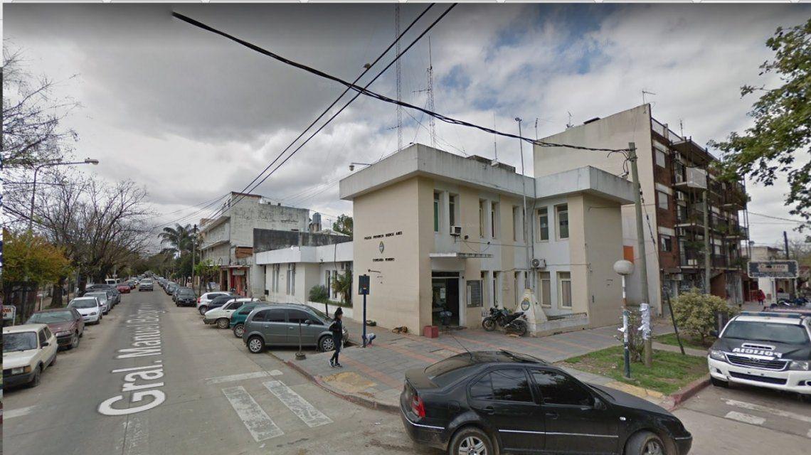 Esta es la comisaría de la que se escaparon dos presos.