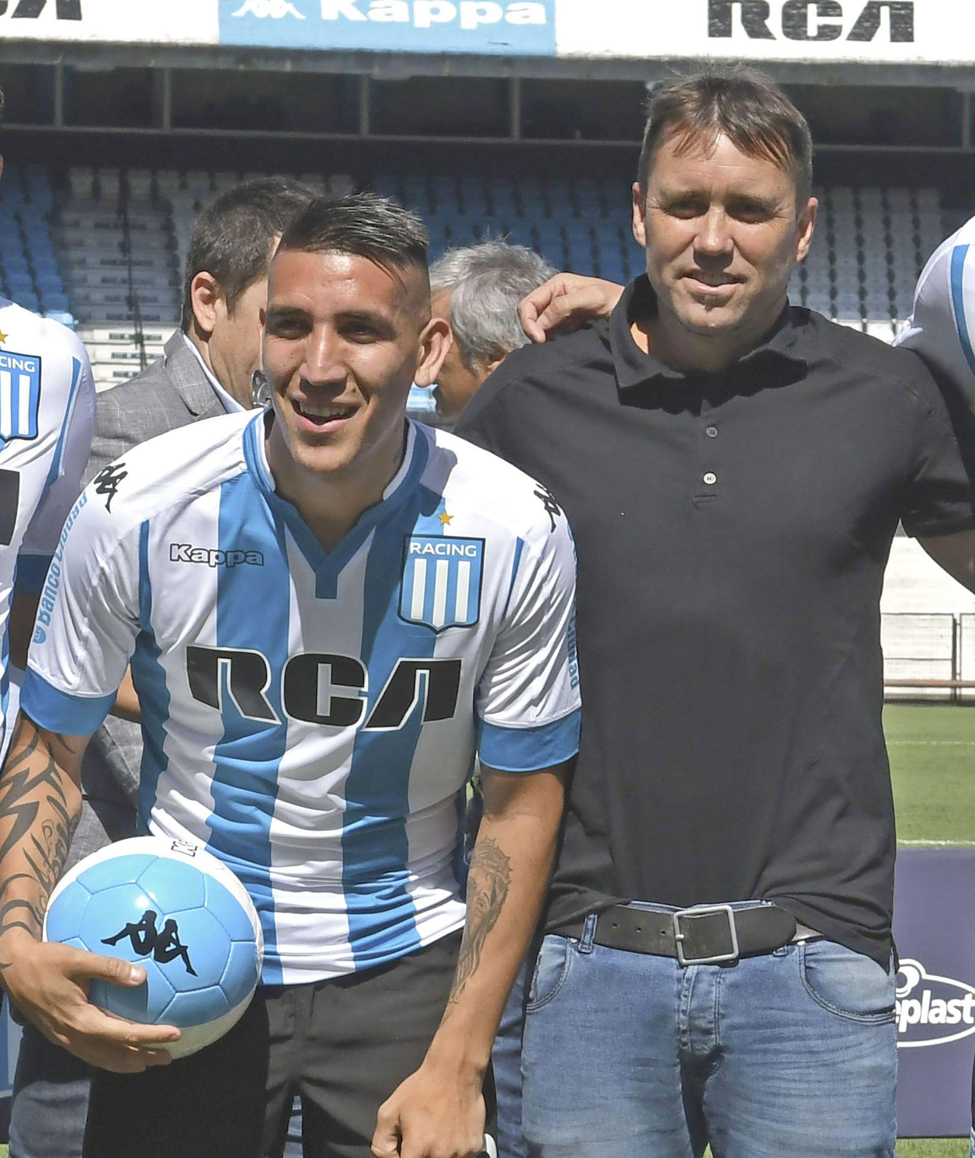 Coudet bancó a Ricardo Centurión.