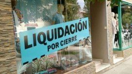 Liquidación por cierre, un cartel que se repite