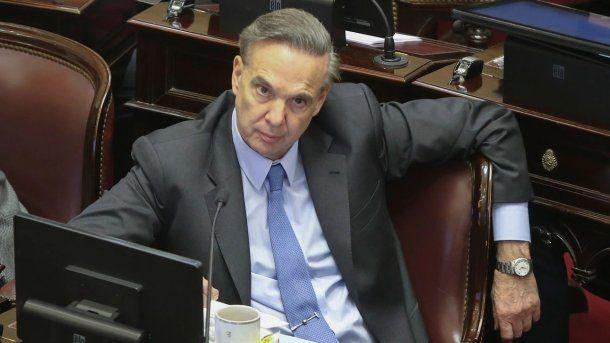 Miguel Ángel Pichetto, jefe de la bancada del Peronismo Federal en el Senado<br>
