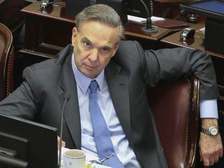 Miguel Ángel Pichetto, jefe de la bancada del Peronismo Federal
