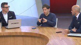 Kicillof le contesta a Macri: Tranquilidad no hay por ningún lado