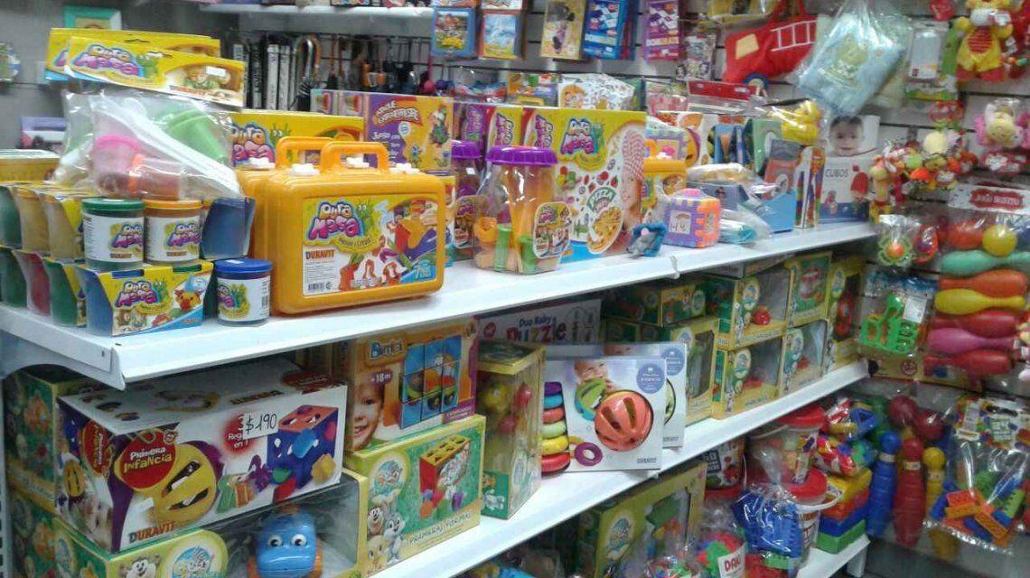 La intención es vender juguetes de producción nacional