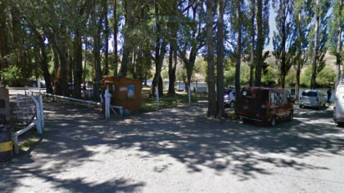 El camping de Junín de los Andes donde fue hallado herido el policía