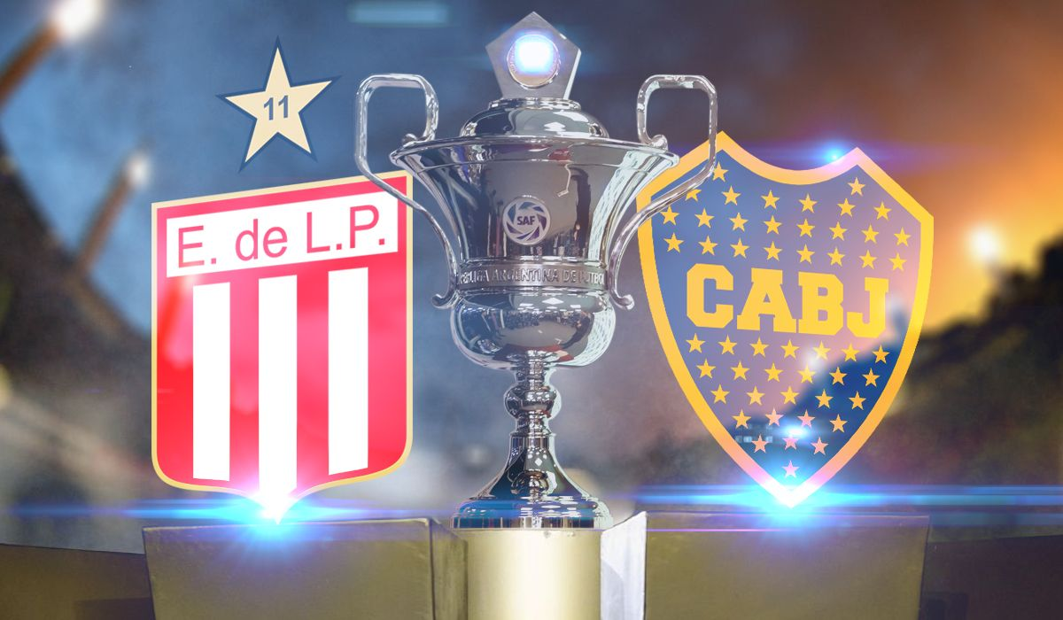 Estudiantes vs Boca: formaciones, horario y TV