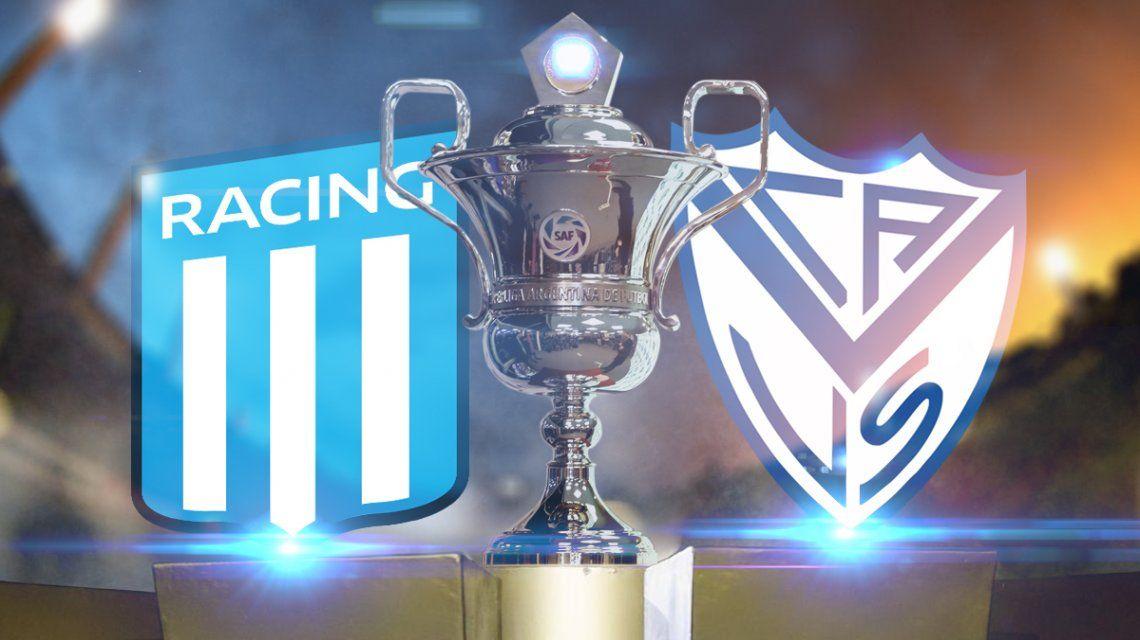 Racing vs Vélez: formaciones, horario y TV