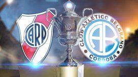 River vs. Belgrano por la Superliga: horario