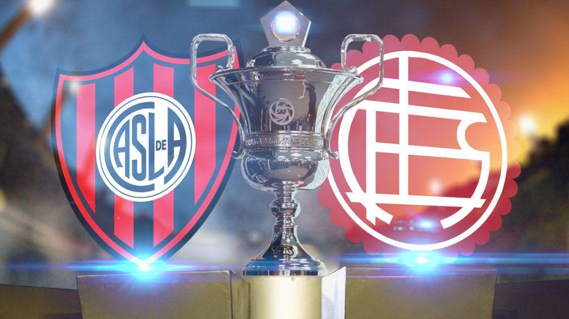 San Lorenzo vs Lanús: formaciones, horario y TV