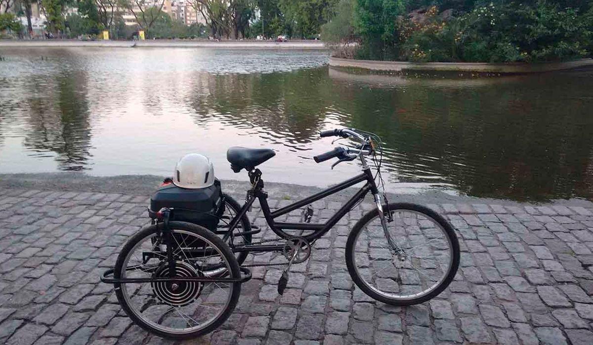 Esta es la bicicleta que le robaron a Matías
