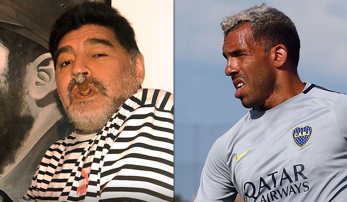 Maradona, sin filtro contra Tevez: Lo veo muy macrista, muy boludo