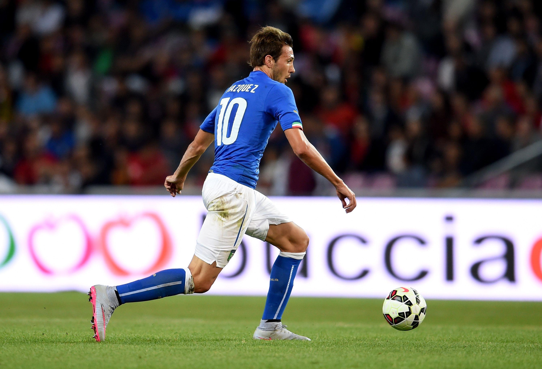 El Mudo Vázquez con la de Italia