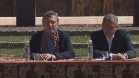 Mauricio Macri con Gerardo Morales