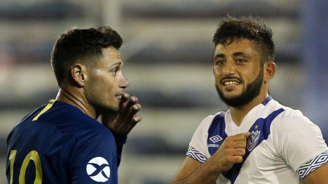 Mauro Zárate y el Monito Vargas