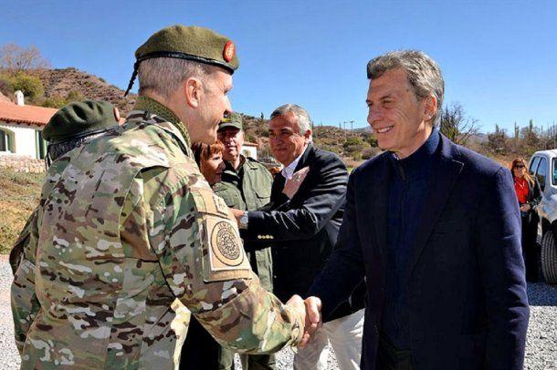 Macri desplegó al Ejército para seguridad interior - Crédito: @Ejercito_Arg<div><br></div>