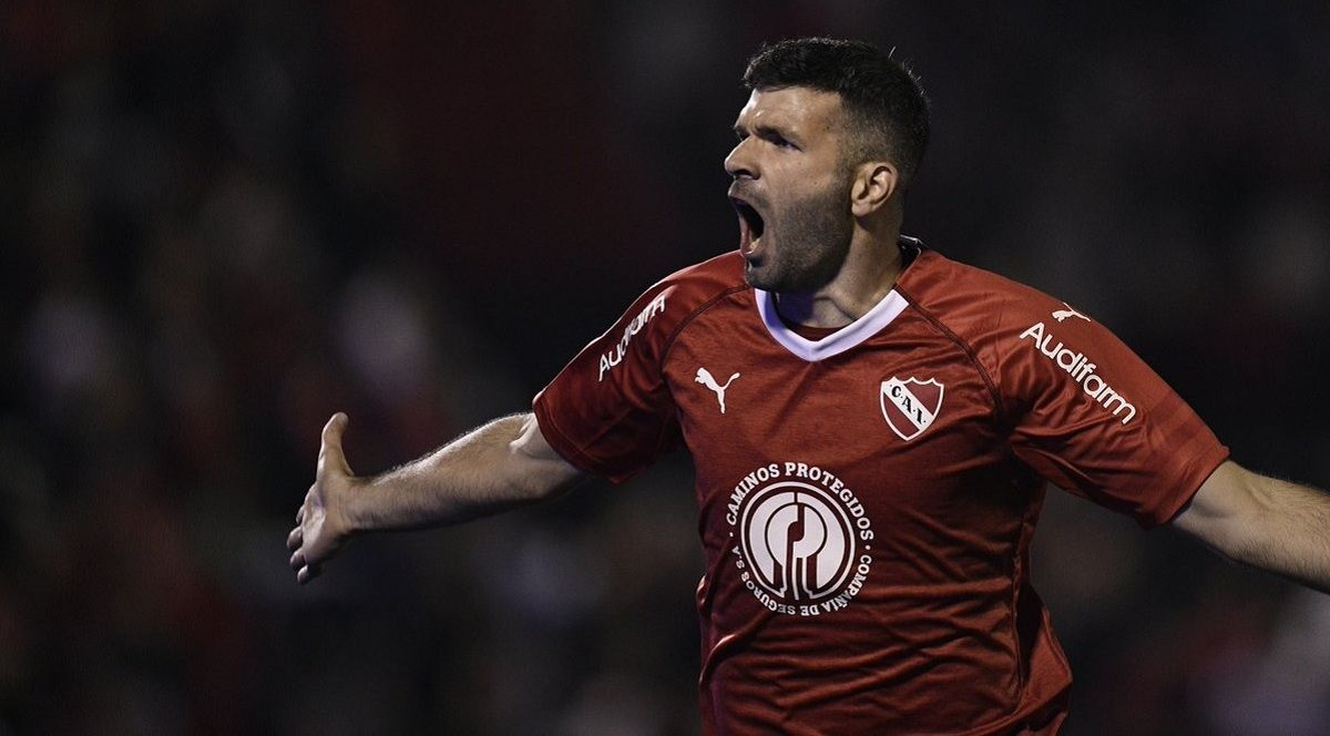Emmanuel Gigliotti en Independiente - Crédito: @Independiente