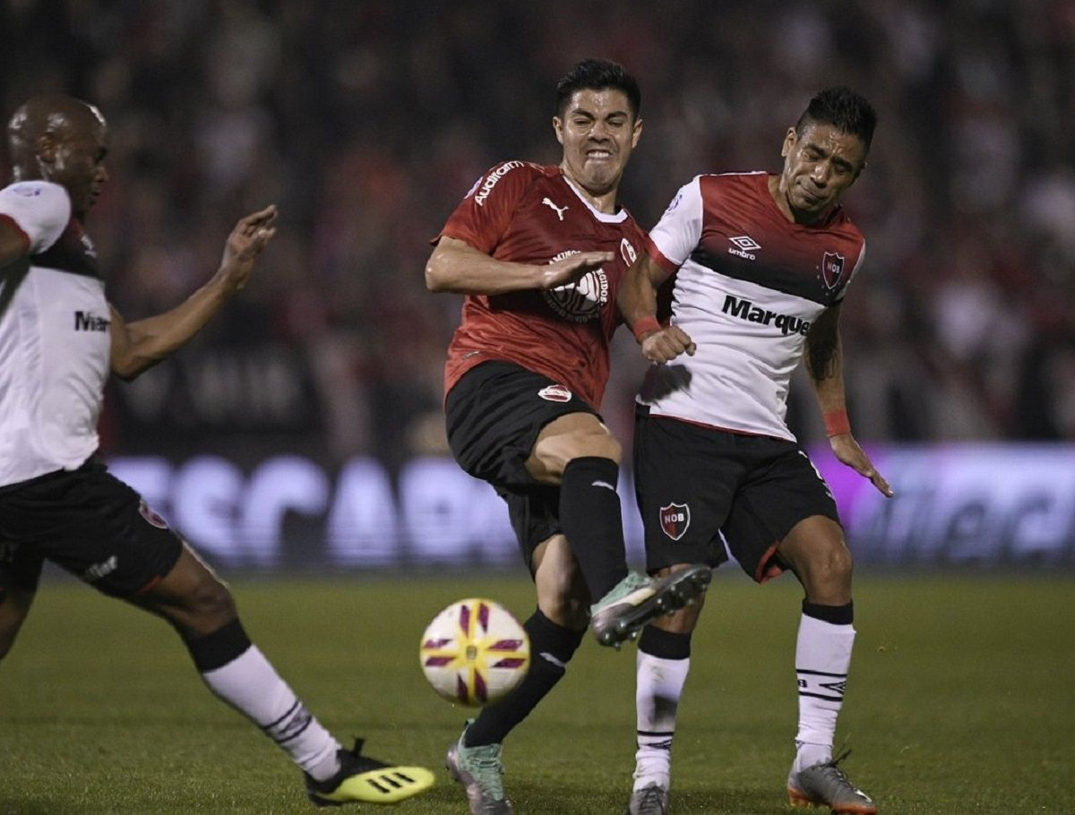 Independiente vs Newells en la Superliga - Crédito: @Independiente